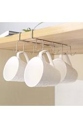 Interlink-UK Edelstahl Tassenhalter Schrankeinsatz für 10 Tassen Küchenschrank Organizer Küchenhelfer Tasse Halterung Aufbewahrung