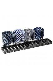 Souarts Gogagoda Große Gürtelablage Hängen Krawatte Regal Seidenschal Gürtel Rack Aufhänger