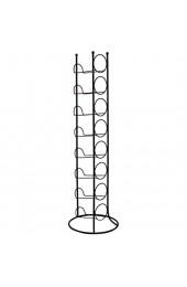 RM Design Weinregal Metall - Flaschenhalter für Weinflasche Wasserflasche - schwarz - für 8 Flaschen