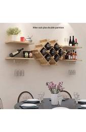 Weinregal Mode Modernes minimalistisches Restaurant Hang Weinklimaschrank Wohnzimmer-Wand-Deko Partition Rack-Creative-Wandbehang Wine Rack (Color : G)