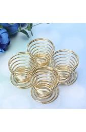 IMIKEYA 4 Stücke Eierständer Eierbecher Eierhalter Make-Up Schwamm Wäscheständer Eierablage Eierbehälter für Eier Frühstück Küche Kosmetik Puderquaste
