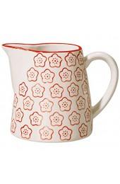 Bloomingville Milchkännchen Emma rot Keramik