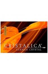 Sahnekännchen Michkännchen Rosalilli 200 ml Transparent Handgeschliffen Kristallglas