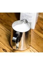 Tosnail 350ml / 12 fl.oz. Milchkännchen Edelstahl-Milch-Schalen-Aufschäumen von Milch Pitcher Milchkrug