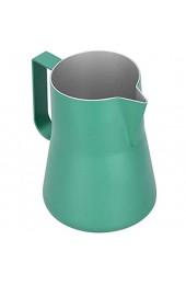 Espresso Steaming Pitcher 550 ml ungiftige geruchlose Kaffeekanne Cafés für Milchcafés(green 550ml)