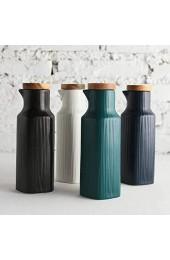 Nordic Home Kitchen Gewürztopf 400 ml Keramik Soßenflasche Essigflasche Essigflasche Gewürzflasche Küchenbehälter
