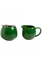 Maxwell & Williams InfusionsT Milch und Zucker Set Porzellan grün 13 x 8.5 x 8.5 cm 2-Einheiten