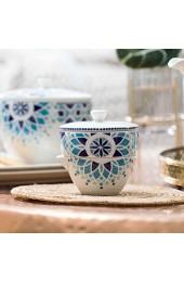 Villeroy & Boch 10-4249-4249 Tea Passion Medina Zuckerdose/Milchkännchen Premium Porcelain