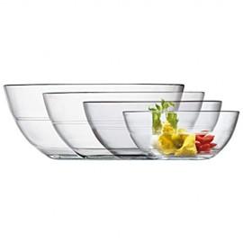 Duralex 6107014 Set aus 6 Gläsern Lys 14 cm Schalen und Schalen