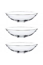 Nachtmann 0081462-0 Glas Schale \'Vivendi\' Ø17cm klar (3 Stück)