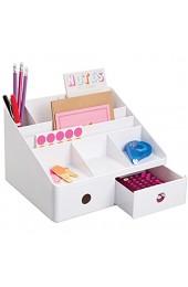 iDesign 42011EU Linus Schreibtisch Organizer mit Schubladen weiß
