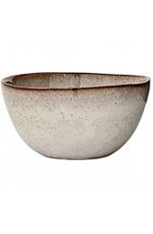 Bloomingville Schale Sandrine grau Keramik