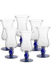 Cocktailglas 6er-Set Eiscremeglas Eisbecher Veneto Amore Vero 590ml blau