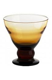 Eisschale Dessertschale Eisbecher Glas Antico Bernstein 12 5 cm Gelato Vero