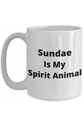 N A Eisbecher ist Mein Geist Tier Kaffeebecher - lustige Geschenk-Tasse für Eisbecher Liebhaber