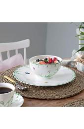 Villeroy und Boch Colourful Spring Schale Premium Porzellan Weiß/Bunt