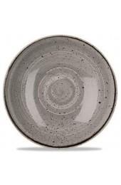 Churchill Stonecast -Coupe Bowl Schüssel- Durchmesser: Ø24 8cm Farbe wählbar (Peppercorn Grey)