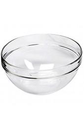 Luminarc E8860 Empilable Salatschale Schüssel Glas stapelbar Ø 10cm klar (24 Stück)