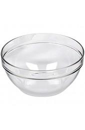 Luminarc 'Empilable' Salatschale Schüssel Glas stapelbar Ø 12cm (6 Stück)