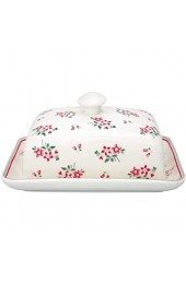 GreenGate Butter Box Square Elouise White