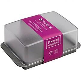 Homexpert Butterdose Kunststoff Mehrfarbig 17 cm