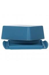 Magu Butterdose Natur-Design New-Blue