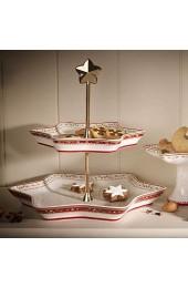 Villeroy & Boch Winter Bakery Delight porzellan Rot Etagere