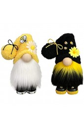 N A Bumble Bee Striped GNOME Scandinavian Tomte Nisse Swedish Honey Bee Elfs Home (Multicolor)