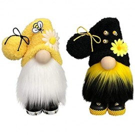 N\A Bumble Bee Striped GNOME Scandinavian Tomte Nisse Swedish Honey Bee Elfs Home (Multicolor)