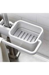 PASDD Küche Spülbecken Organizer Spüle Halter Korb Schwammhalter Spültuch- Halter Abfluss Regal für Küche Bad Halter Aufbewahrung