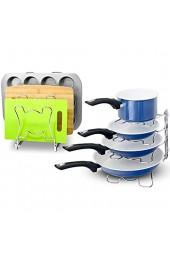 simplehoueware erweiterbar stapelbar Küche Schrank und Zähler Regal Organizer silber chrome