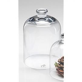 Glasabdeckung COVER Käseglocke Glas Glassturz Abdeckung 1 Stück 18 5 cm