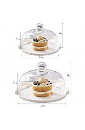 LYLSXY Geschirr Kuchenabdeckung Lebensmittelabdeckung Mit Keramischen Gerichten Für Platten/Serviergerichte 23 * 23 * 15 cm