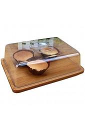 Tortenplatte Geschirrsteakplatte Kuchenplatte mit Deckel Supermarkt Große Kapazität Brotschale Kunststoff Sandwich Staubabdeckung Salat Käse Dome Chip & Dip Server Salatplatte LQHZWYC