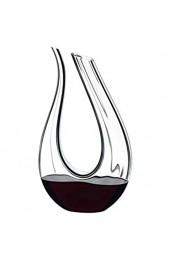 RIEDEL - Decanter - Dekanter - Weindekanter - Amadeo Fatto A Mano Black/White/Black Optical