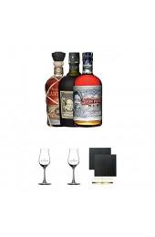 Rum Dreier Set: Botucal 12 Years Plantation XO und Don Papa 0 7 Liter + Geschenkset