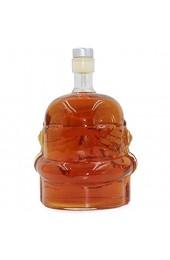 Transparente Kreative Whiskyflasche Karaffe Dekanter Stormtrooper Glasflasche Wein Dekanter Glasbecher Transparent