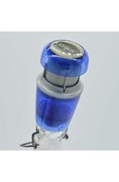 Weinverschluss Vakuum in Blau   Sektverschluss   Wein Vakuumverschluss   Weinflaschenverschluss   Vakuumpumpe Weinflaschen   Verschluss Weinflasche   Vakuumierer   Vakuumverschluss