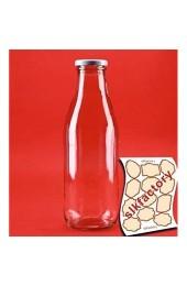 6 x 500 ml 0 5 Liter l Glasflaschen Milchflaschen aus Glas. 1.Klasse Glas In den Größen 200 ml / 250 ml / 500 ml oder 1000 ml mit Schraubverschluss von slkfactory