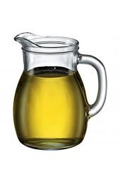 Bormioli Rocco 146150 Bistrot Krug mit Füllstrich bei 0.5l Glas transparent 1 Stück