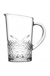 Pasabahce 55332 Timeless Krug 1.44 Liter mit Füllstrich bei 1l Glas transparent 1 Stück