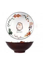 Japanischen Ramenschüssel aus Keramik Große Vintage Salatschüssel 900ML Kreative Suppenschüsseln mit Stäbchen Porzellan Schale Ramen Schalen für Müsli Nudeln Vorspeisen USW