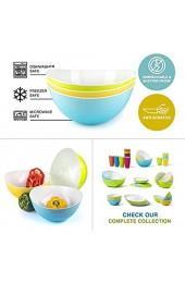 Salatschüssel Kunststoff als Pastageschirr oder große Rührschüsseln - 3er Set
