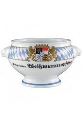 Seltmann Weiden 001.683814 Terrine Löwenkopf mit Deckel 2 00 l Compact Bayern-Serie