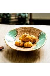 WSHFHDLC Volkskultur Schüssel Retro Eimer Schüssel Schüssel Keramikschale Schüssel japanische Ramen Salatschüssel Obstschale Snack Schüssel Küchenutensilien Volkskultur Schale