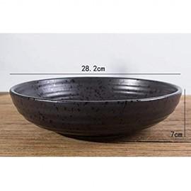 XIUYU Keramik Big Soup Bowl Gesicht Schüssel Obstschale Suppe Basin Fisch-Schüssel Gekochte