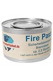 Gastro-Bedarf-Gutheil 24 x Brennpaste je Dose 200g Fire Paste Sicherheitsbrennpaste ca. 2 5 Std. für Chafing Dish Speisewärmer
