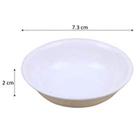 BESTonZON 10 Stück Mini-Teller für Snack Essig Soße Gewürze Zucker für Sushi Soja Saucen Teller Servierteller
