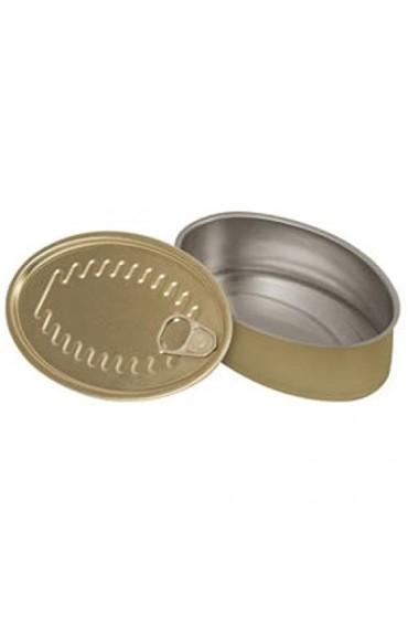Supreminox Oval Snacks-Dosen 13 2x 8 5cm Mehrfarbig