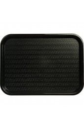 Genware NEV-CT1216-03 Café-Tablett 30 5x 40 6cm Schwarz